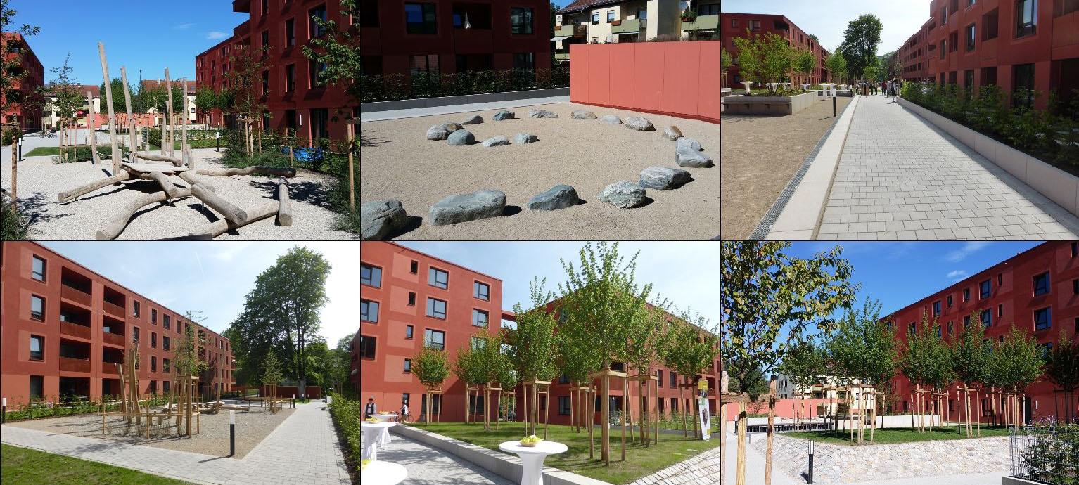 Neubau von 101 Wohnungen in Rosenheim, Finsterwalderstrasse