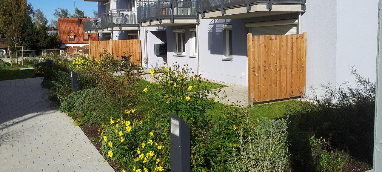 Wohnungsbau Kurt-Rhode-Platz, Ebersberg