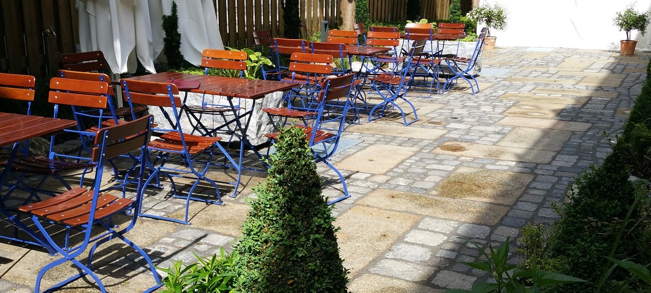 Best Western Plus – Parkhotel Erding – Gastgarten