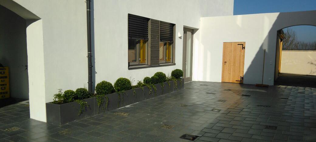 Granit Platten 36x24 und 24x24 cm, 6 cm dick