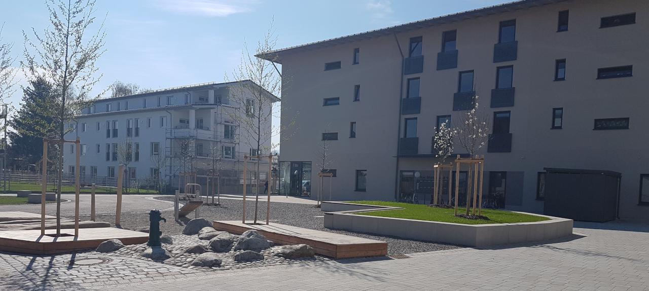 Neubau Wohnquartier Mitterfeld West in Rosenheim
